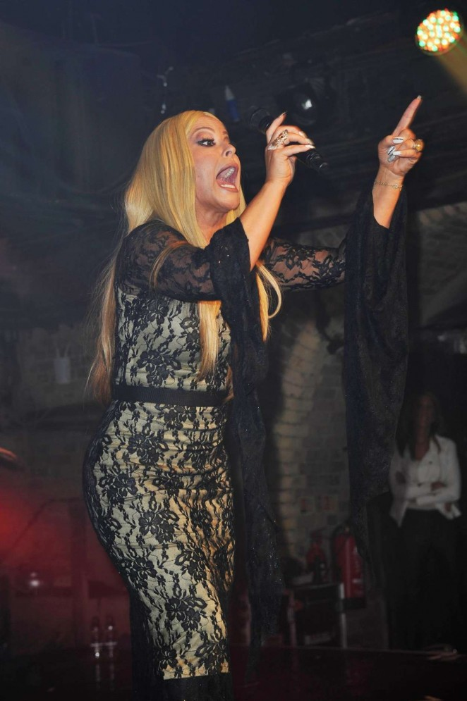Anastacia - Performing at G-A-Y at Heaven Night Club in London