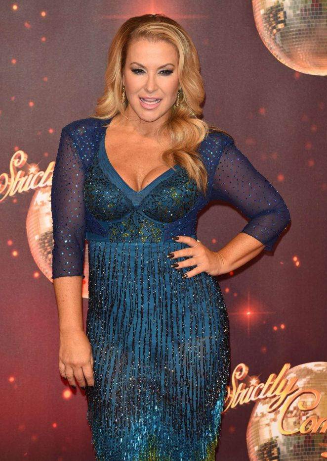 Anastacia - Strictly Come Dancing Launch in London