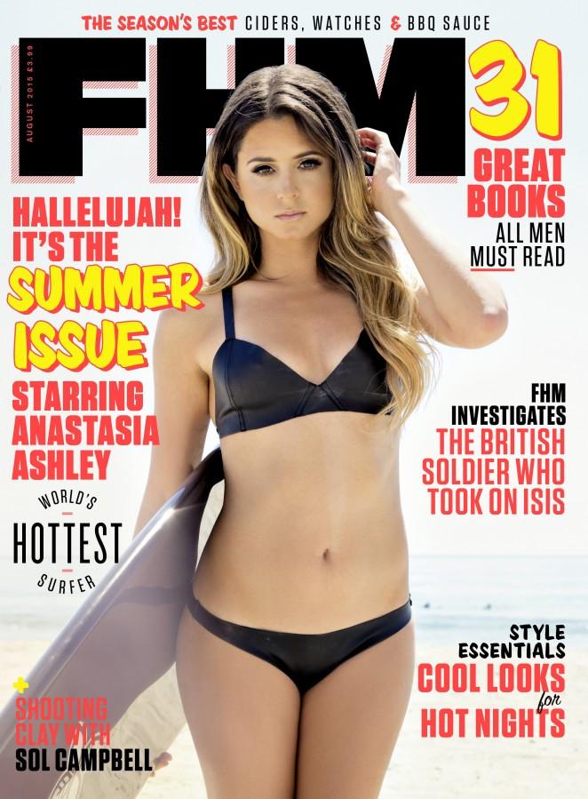 Anastasia Ashley - FHM Magazine (August 2015)