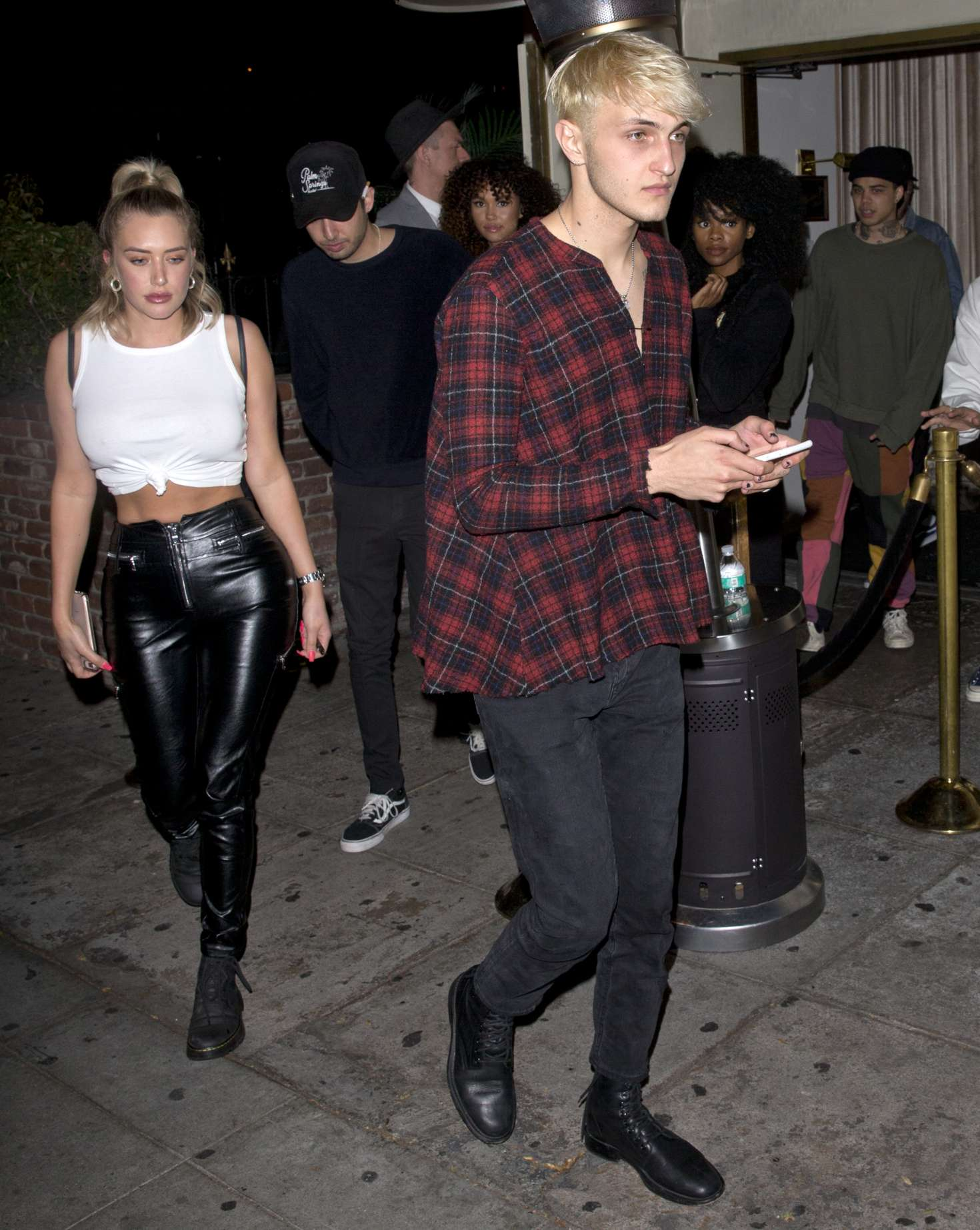 Anastasia Karanikolaou 2018 : Anastasia Karanikolaou and Anwar Hadid: Leaving the Delilah club -05