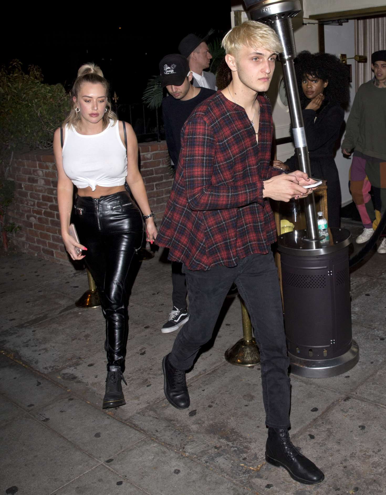 Anastasia Karanikolaou 2018 : Anastasia Karanikolaou and Anwar Hadid: Leaving the Delilah club -08