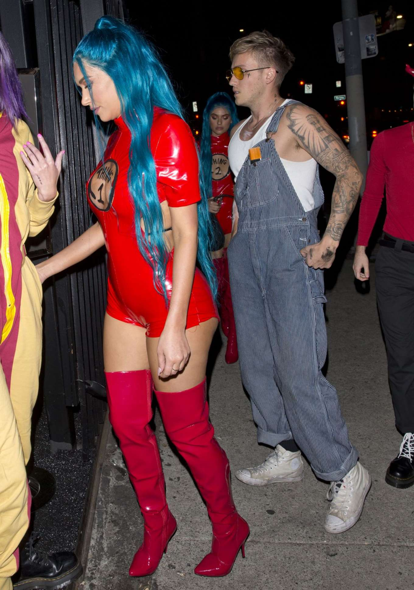 Anastasia Karanikolaou 2018 : Anastasia Karanikolaou: Arrives at Just Jareds 7th Annual Halloween Party -08
