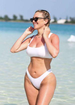 Anastasia Karanikolaou in Bikini - Revolve Summer Event in Bermuda