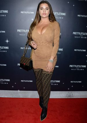 Anastasia Kvitko - PrettyLittleThing x Hailey Baldwin Launch Event in LA