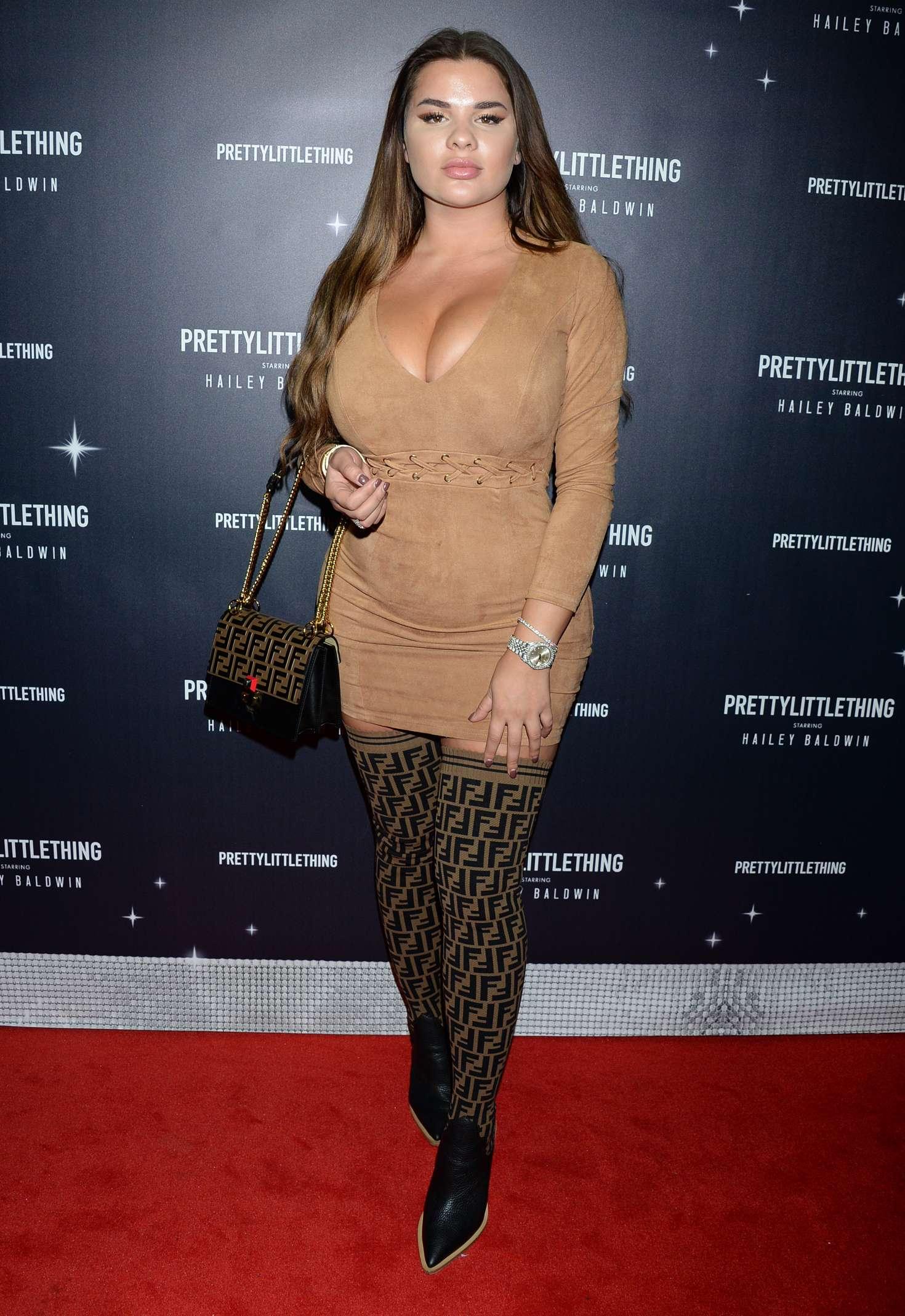 Anastasia Kvitko - PrettyLittleThing x Hailey Baldwin Launch Event in LA