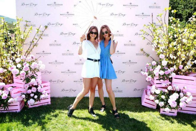 Anastasia Mikhailuk and Gina Zhel - Rose Day LA Launch in Los Angeles