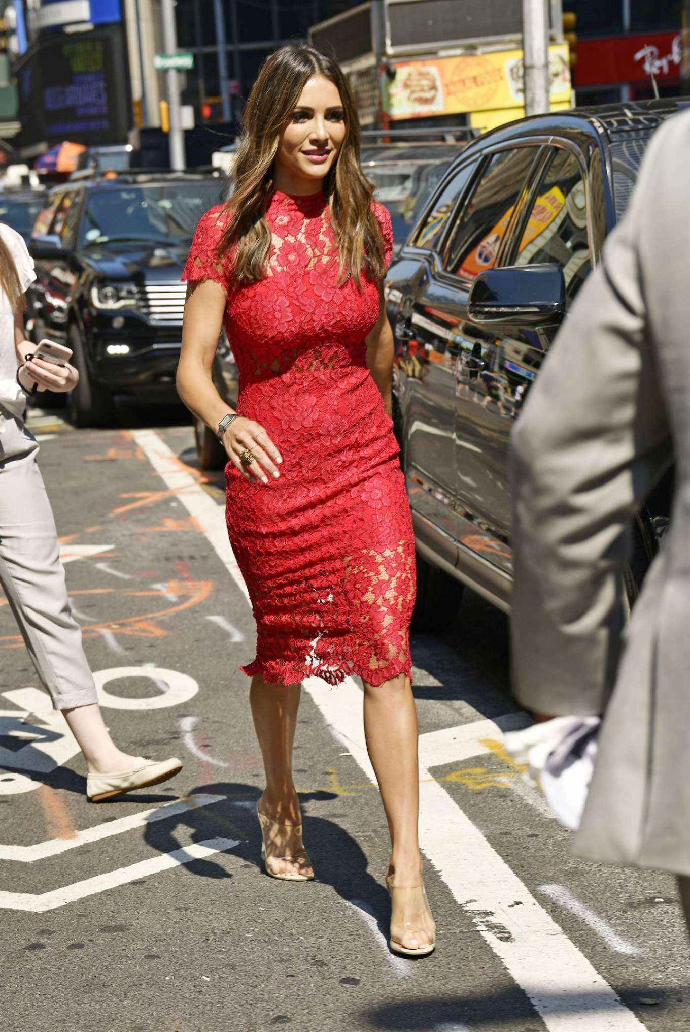 Andi Dorfman 2019 : Andi Dorfman in Red Dress-08