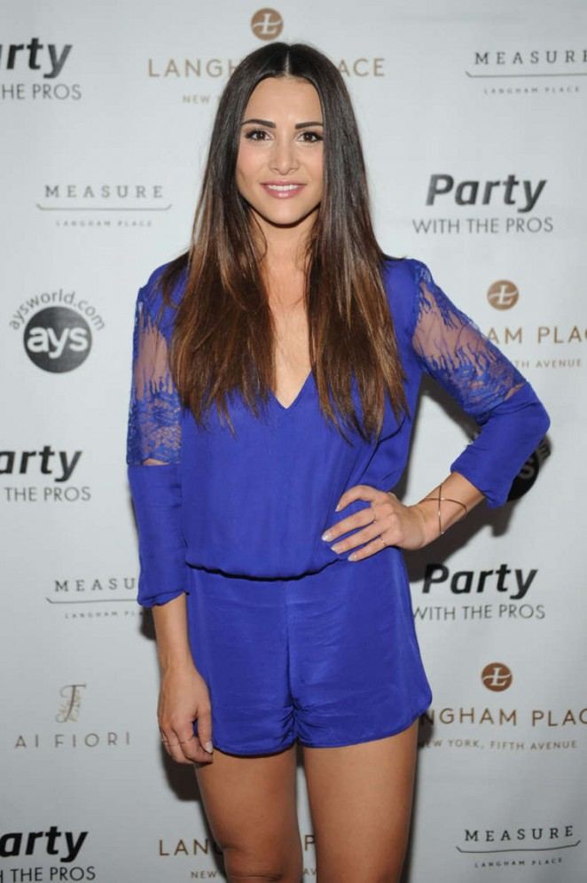 Andi Dorfman - Party with the Pros in NYC