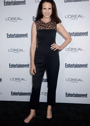 Andie MacDowell - 2016 Entertainment Weekly Pre-Emmy Party in Los Angeles