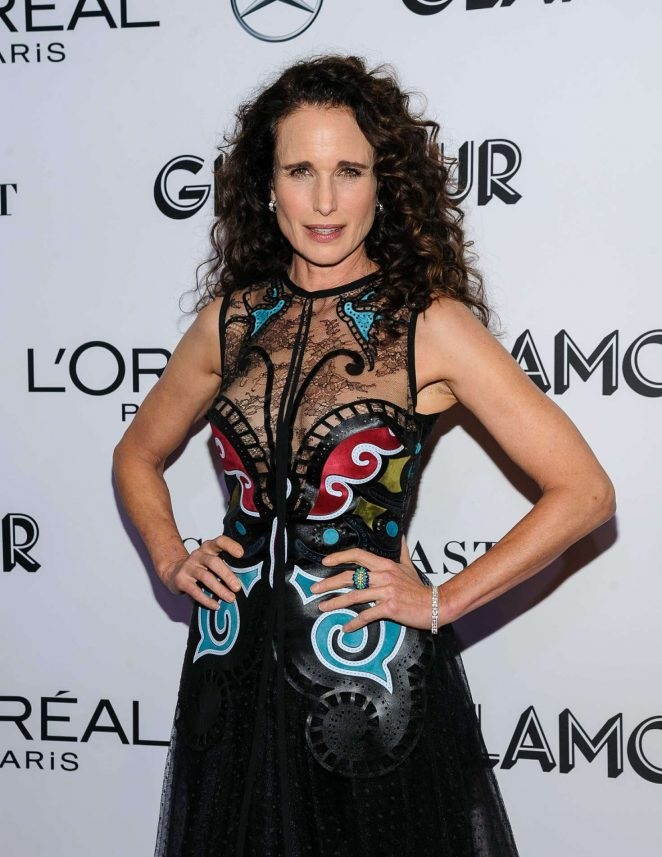 Andie MacDowell - 2018 Glamour Women of the Year Awards in NYC
