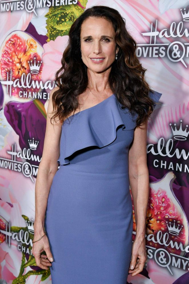 Andie MacDowell - 2018 Hallmark Channel All-Star Party at TCA Winter Press Tour in LA