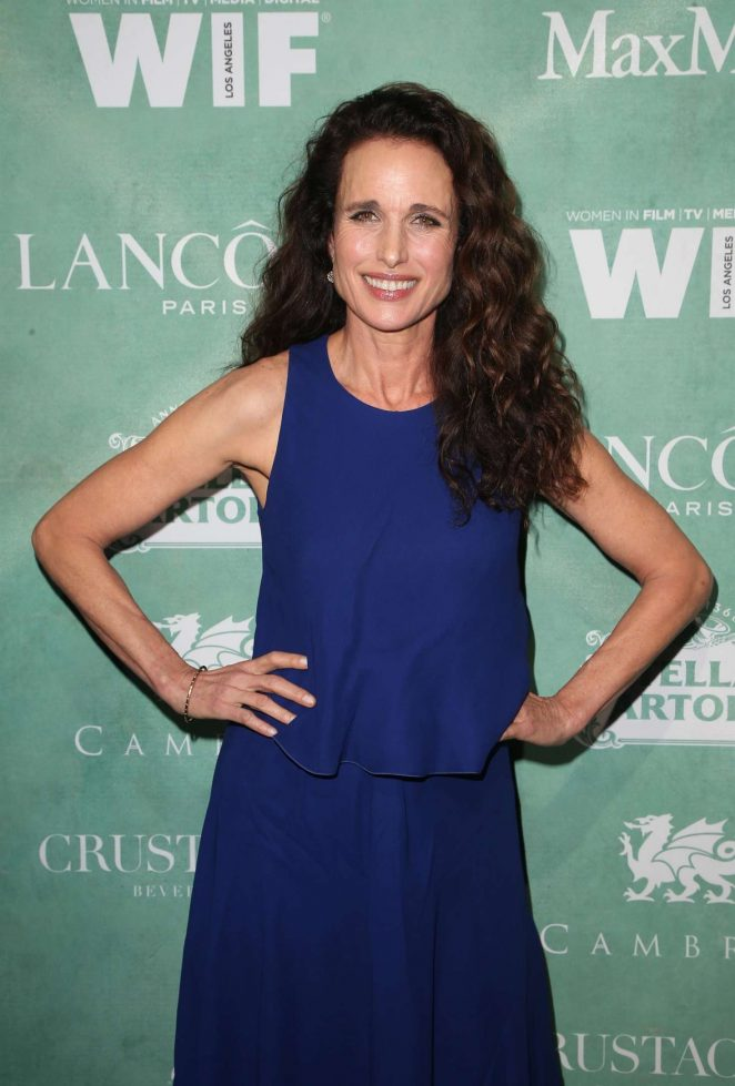 Andie MacDowell - 2018 Women in Film Pre-Oscar Cocktail Party in Beverly Hills