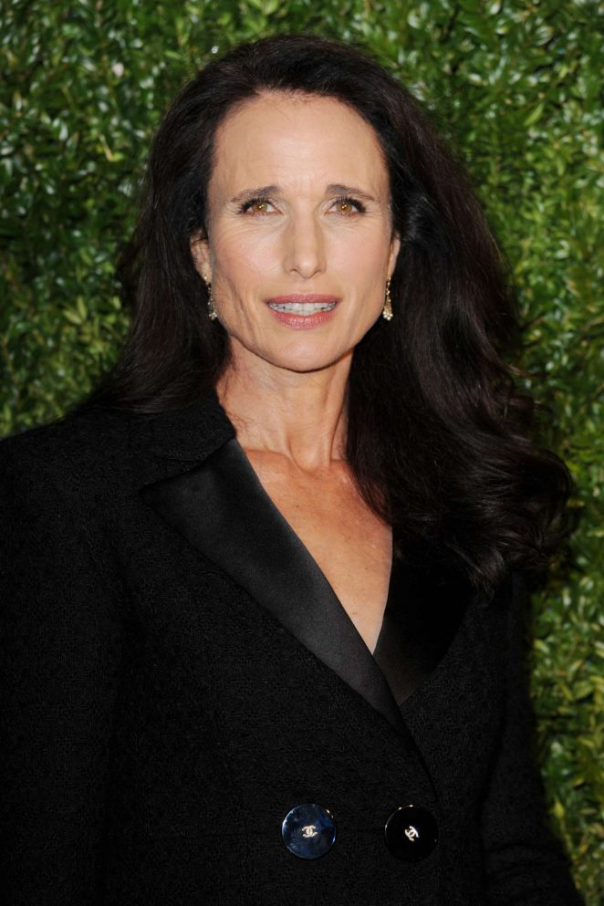Andie MacDowell - Chanel Artists Dinner at 2017 Tribeca Film Festival in NY