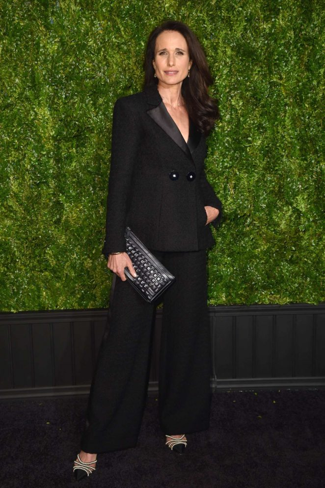 Andie MacDowell: Chanel Artists Dinner at 2017 Tribeca Film Festival -07