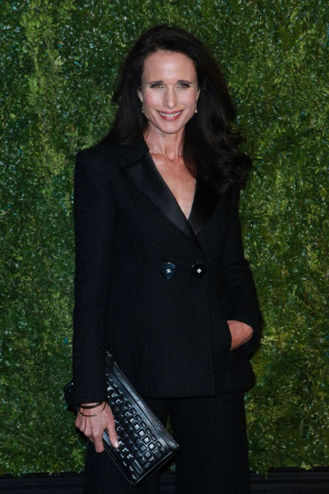 Andie MacDowell: Chanel Artists Dinner at 2017 Tribeca Film Festival -13