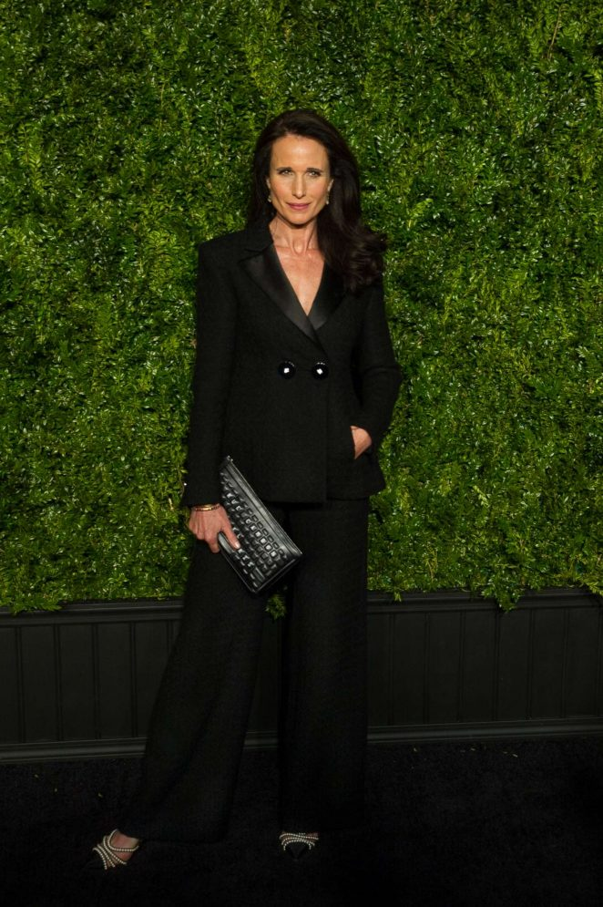 Andie MacDowell: Chanel Artists Dinner at 2017 Tribeca Film Festival -17