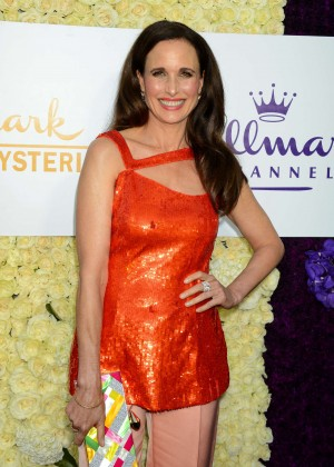 Andie MacDowell - Hallmark Channel 2015 Summer TCA Tour in Beverly Hills