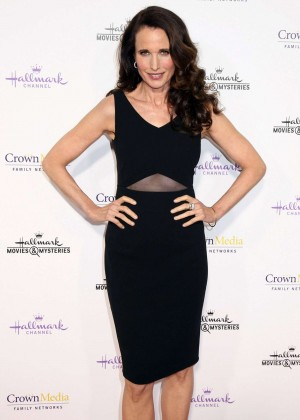 Andie MacDowell - Hallmark Channel TCA Press Tour in Pasadena