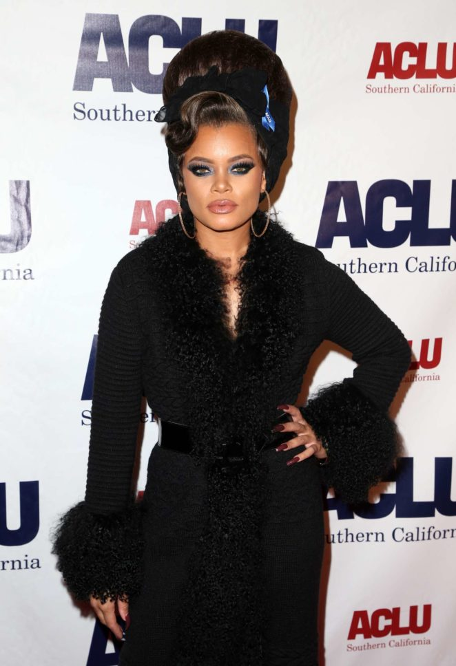 Andra Day - 2017 ACLU SoCal's Annual Bill of Rights Dinner in LA