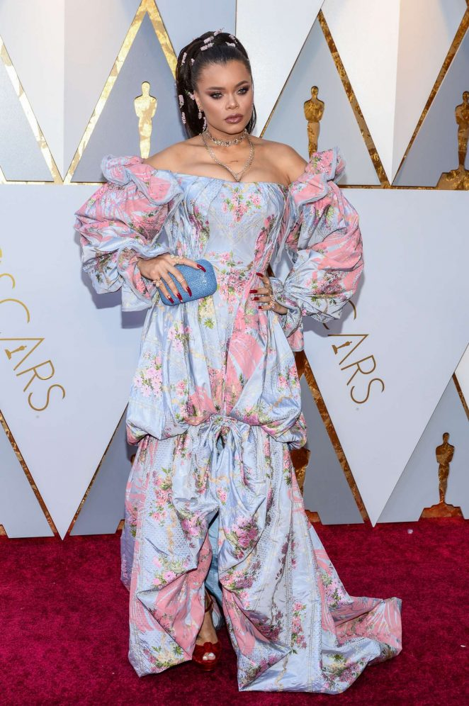 Andra Day - 2018 Academy Awards in Los Angeles