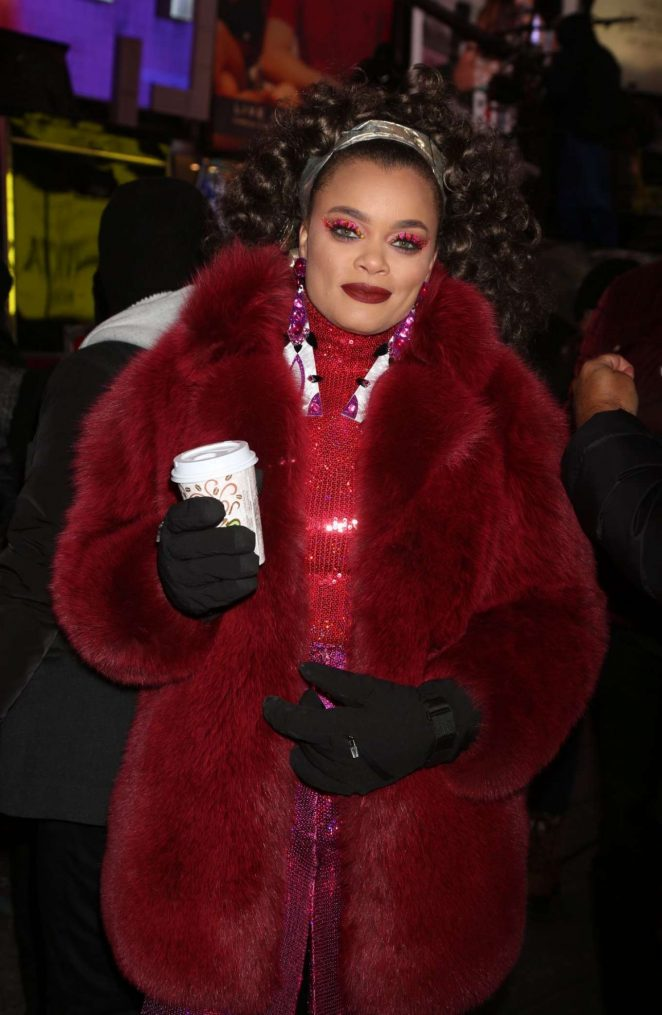 Andra Day - 2018 New Year's Eve Celebration in Times Square in NYC