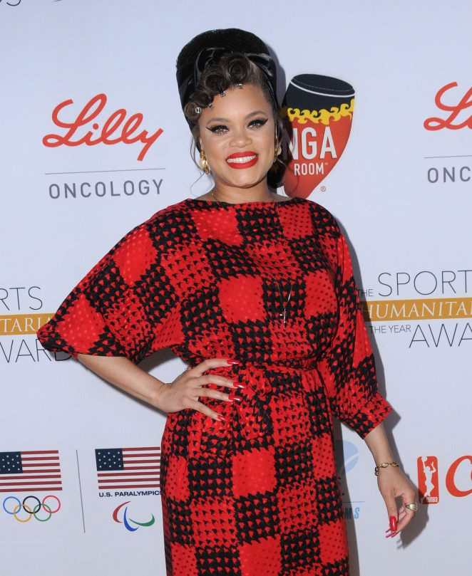 Andra Day - 2nd Annual Sports Humanitarian of the Year Awards in Los Angeles