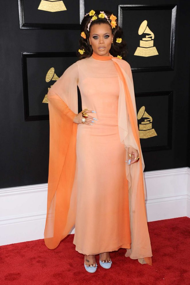 Andra Day - 59th GRAMMY Awards in Los Angeles