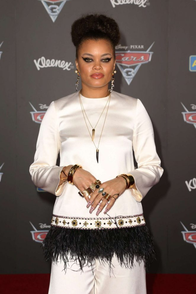 Andra Day - Disney and Pixar's 'Cars 3' Premiere in Anaheim