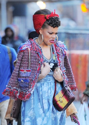 Andra Day out in New York