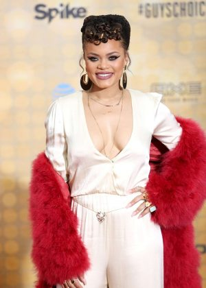 Andra Day - Spike TV 10th Annual Guys Choice Awards in Culver City