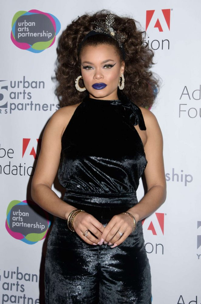 Andra Day - Urban Arts Partnership 25th Anniversary Benefit in New York