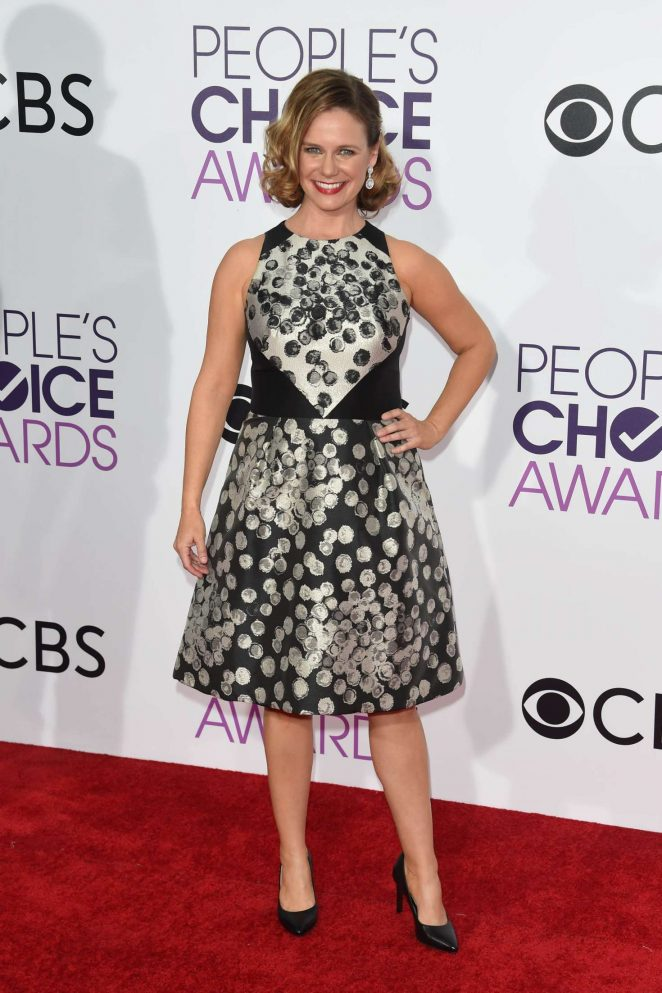 Andrea Barber - 2017 People's Choice Awards in Los Angeles