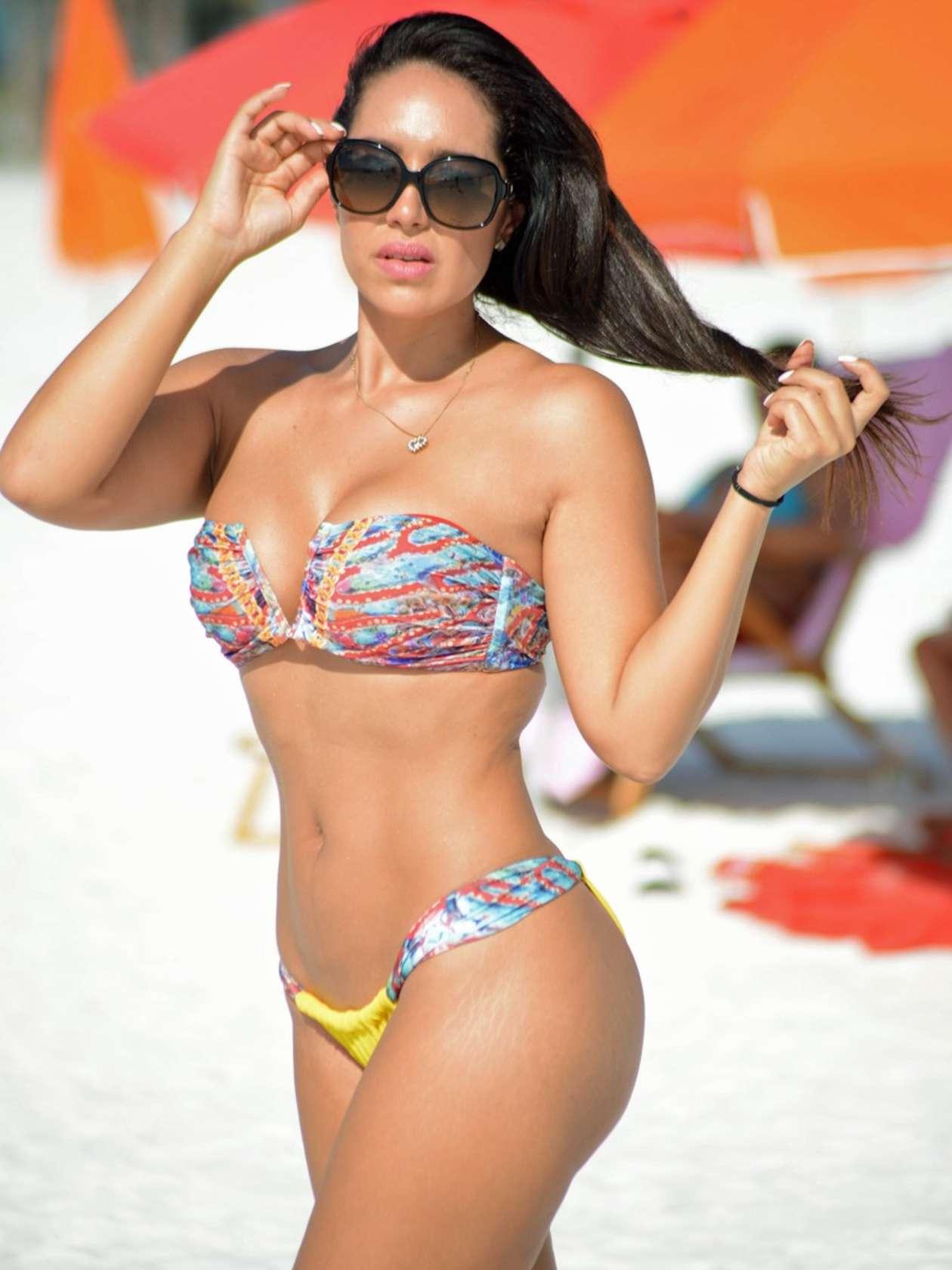 Andrea Calle in Bikini in Miami
