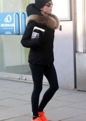 Andrea Corr in Tights Out in London