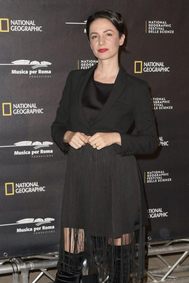 Andrea Delogu – 'Genius Picasso' Premiere in Rome