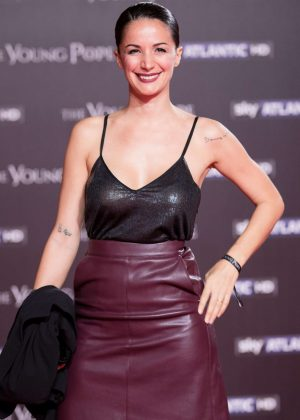 Andrea Delogu - 'The Young Pope' Premiere in Rome