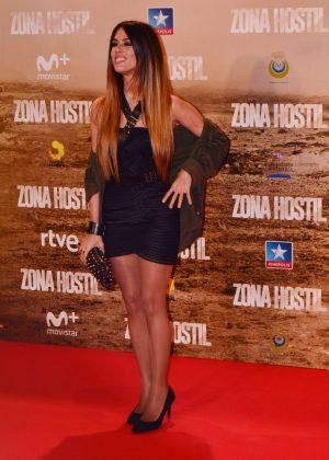Andrea Gara - 'Zona Hostil' Premiere in Madrid