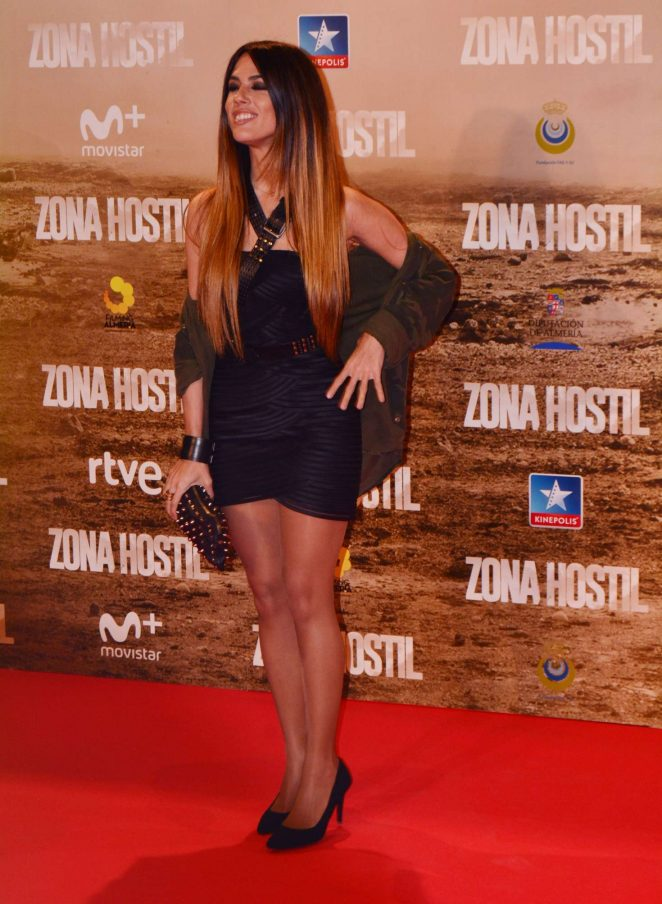 Andrea Gara - 'Zona Hostil' Premiere in Madrid