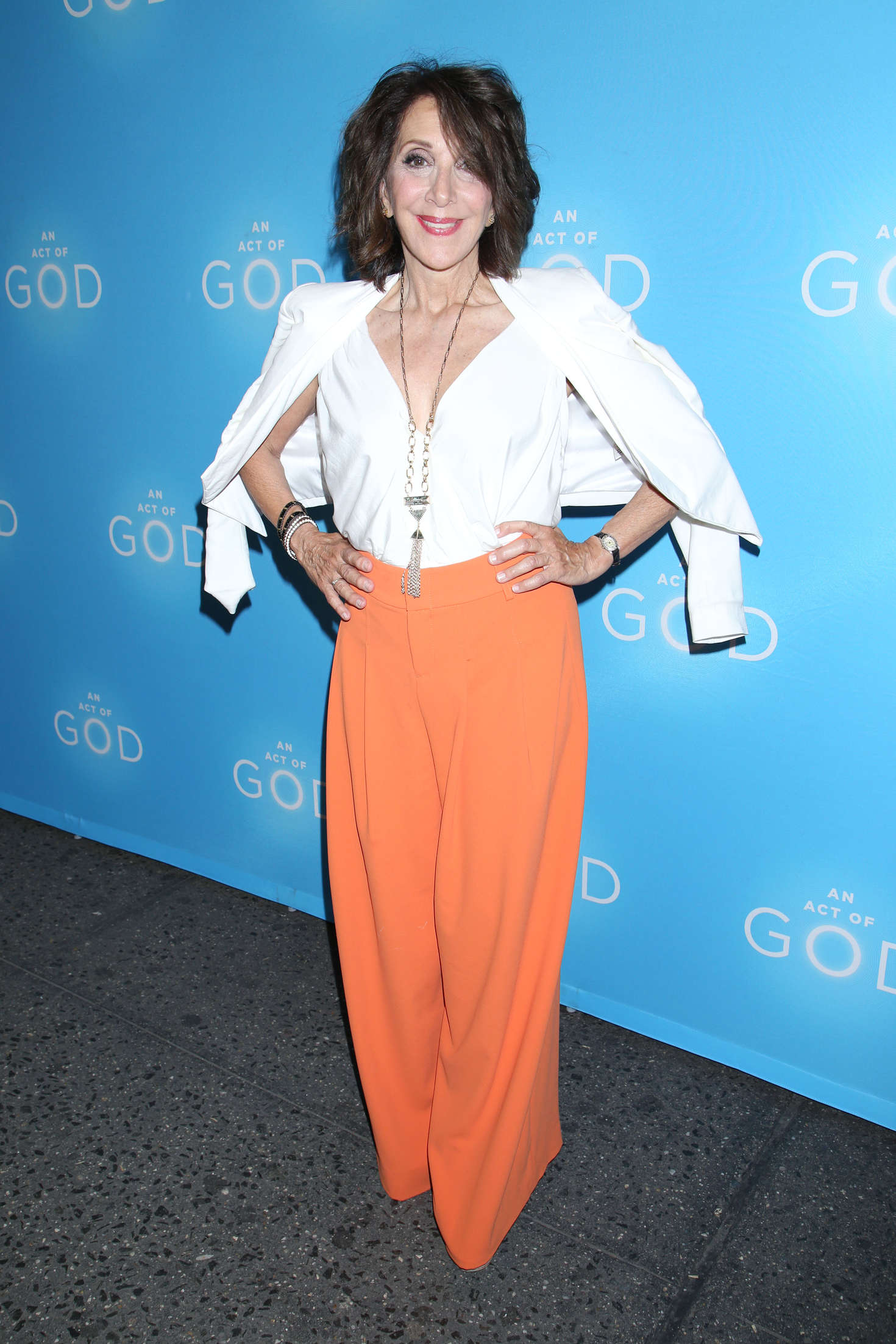 Andrea Martin - Opening night of An Act of God at the Booth Theatre in New York