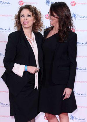 Andrea McLean and Nadia Sawalha - Virgin Money Giving Mind Media Awards 2017 in London