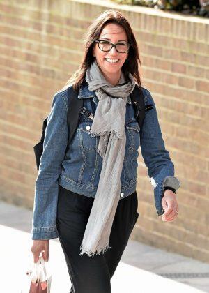 Andrea McLean at ITV Studio in London