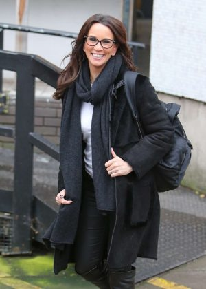 Andrea McLean at ITV Studios in London