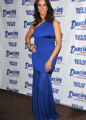 Andrea McLean - Dancing With Heroes Charity Fundraiser in London