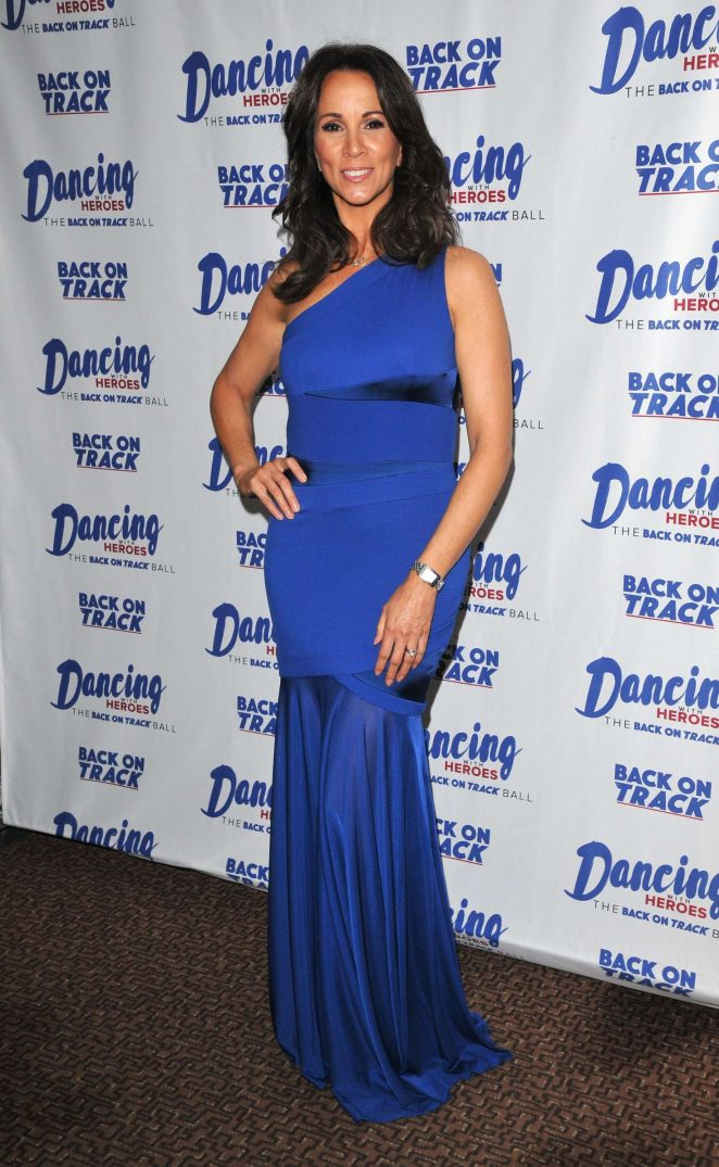 Andrea McLean – Dancing With Heroes Charity Fundraiser in London