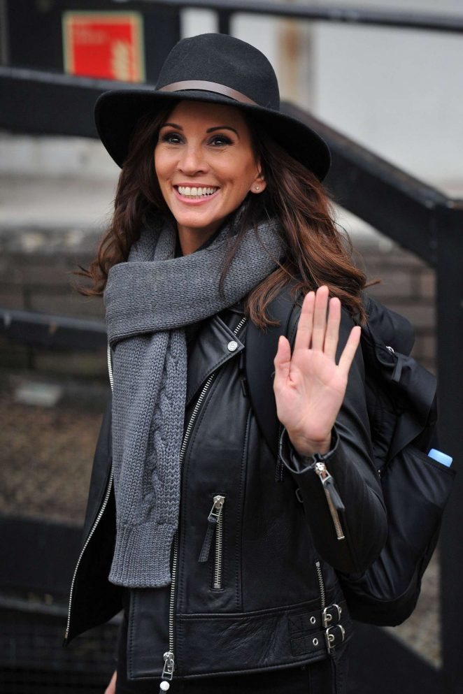 Andrea McLean - ITV studios in London