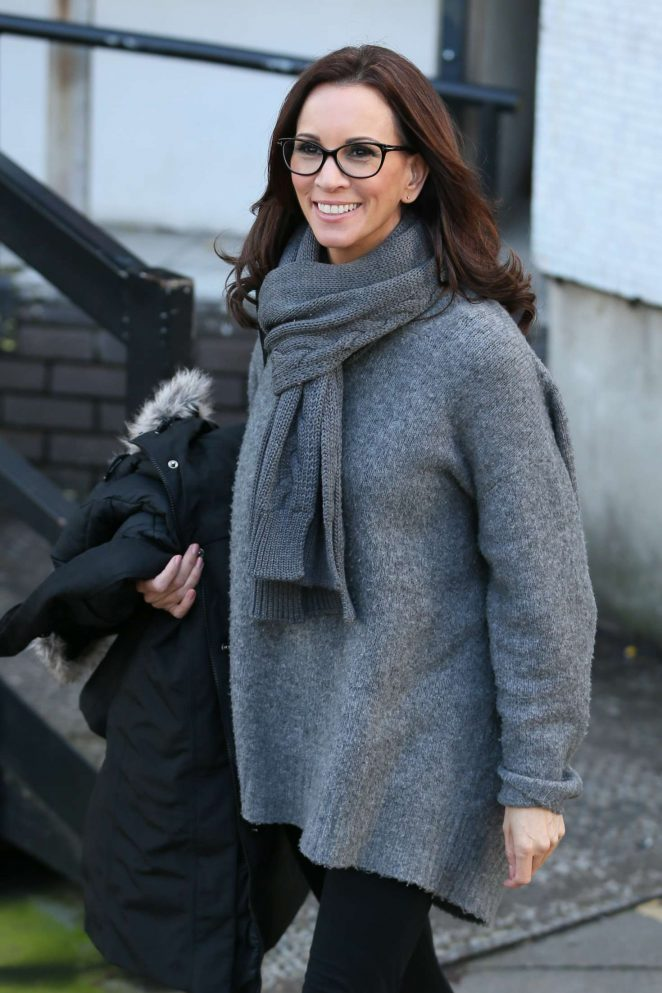 Andrea McLean - Leaving ITV Studios in London
