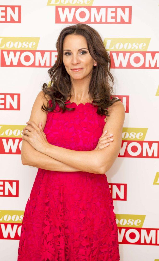 Andrea McLean - 'Loose Women' TV show in London
