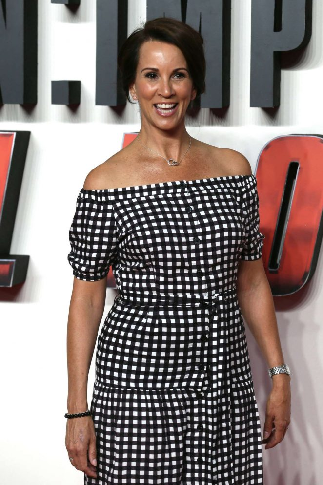 Andrea McLean - 'Mission Impossible Fallout' Premiere in London