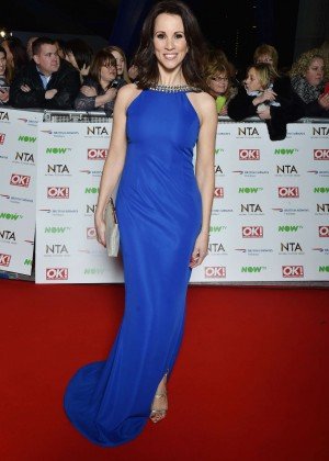 Andrea McLean - National Television Awards 2016 in London