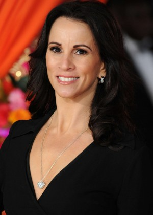 """Andrea McLean - Royal Performance & Premiere of """"The Second Best Exotic Marigold Hotel"""" in London"""